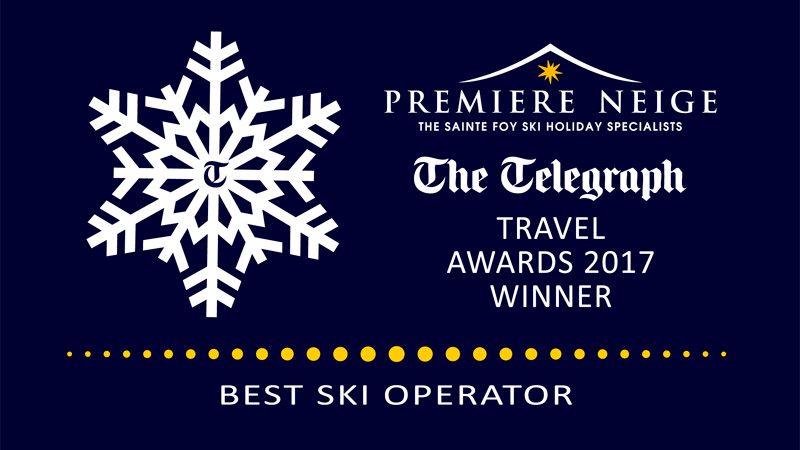 Premiere Neige wins Telegraph Award - Best Ski Operator