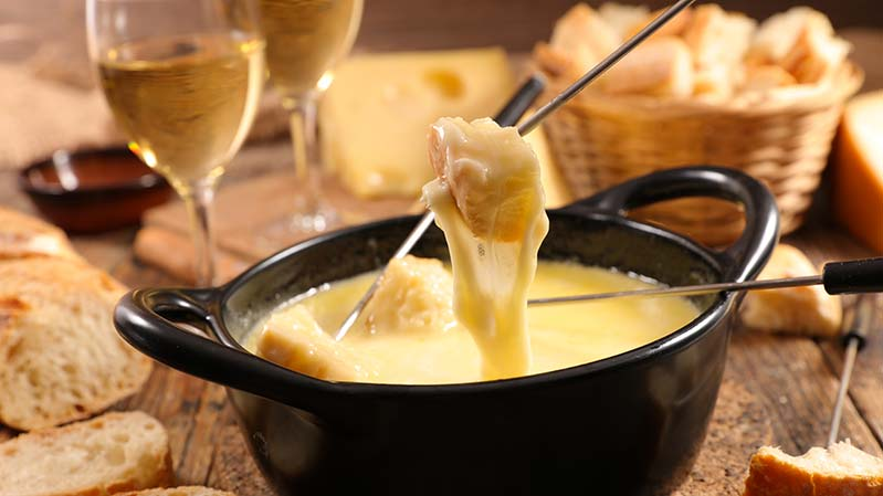 Savoie cheese fondue